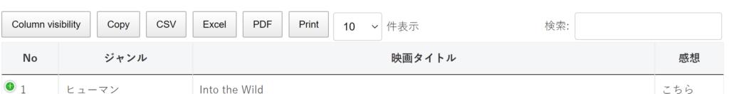 Inline Google Spreadsheet Viewer Settings:並び替え非表示