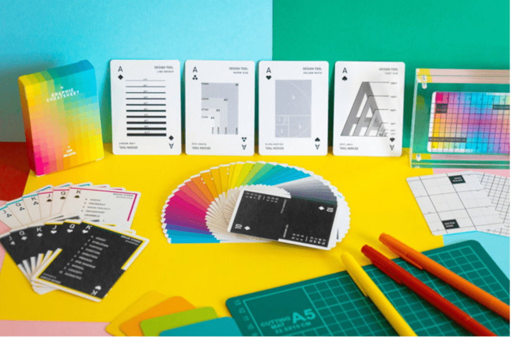 The Graphic Cheatsheet Playing Cards for Designers