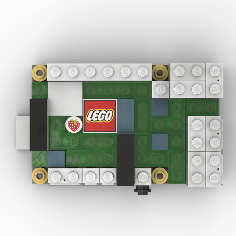 RaspberryPi4 LEGO®モデリング